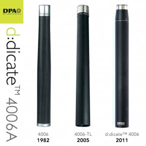 The evolution of the DPA d:dicate™ 4006A Microphone