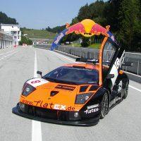 DPA Mics recording a Lamborghini Murcielago