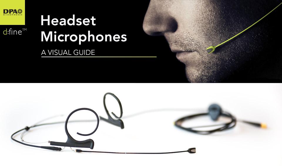 DPA d:fine Headset Mic guide