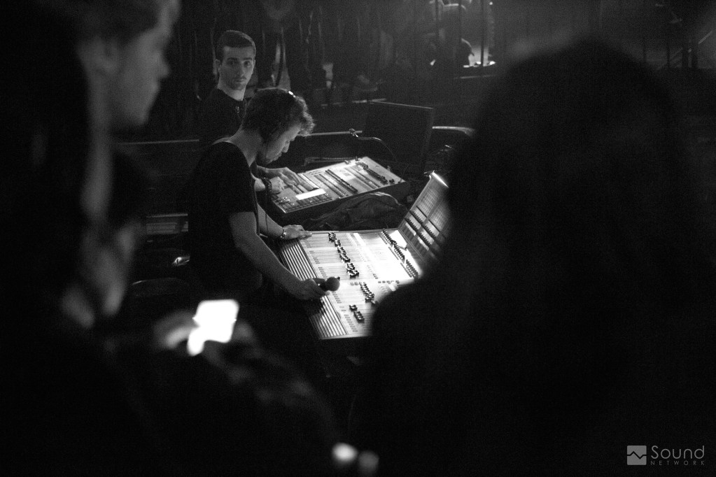 Mike Woodhouse, FOH Sound Engineer for CATB