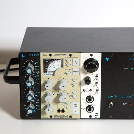 Smart Research C1LA Compressor Limiter 500-Series in Lunchbox