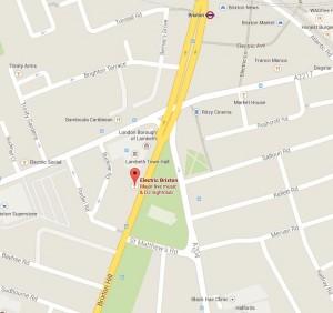 Electric Brixton Map