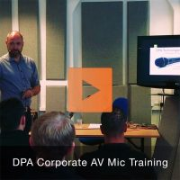 DPA Corporate AV Microphone Training