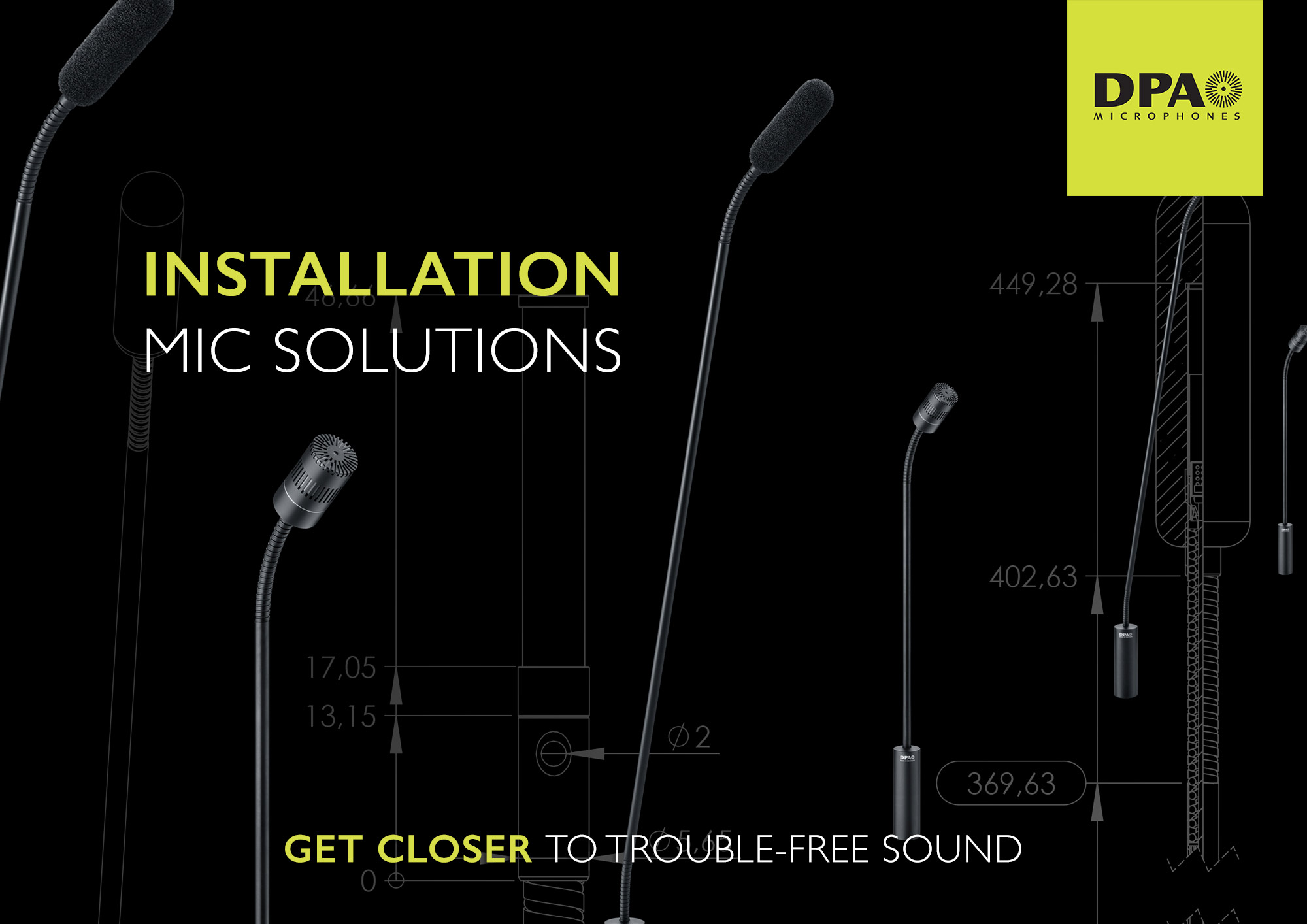 DPA Installation Microphone Solutions