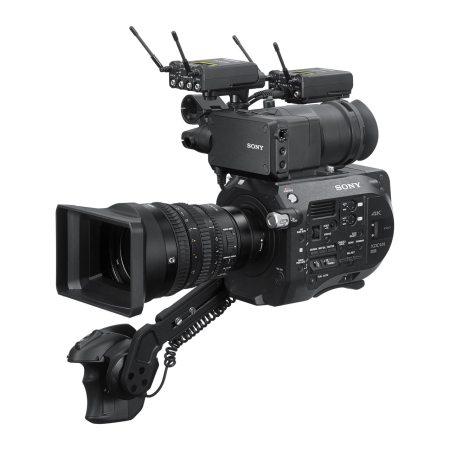 Sony URX-P03D Receiver on Handycam