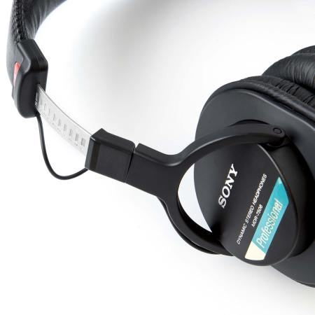 Sony MDR7506 Closed Back Professional Headphones