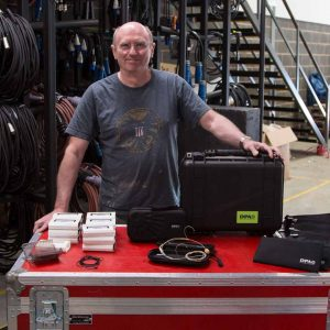 Mike Hayes of FAC365 with some of his DPA stock