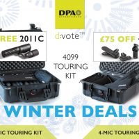DPA d:vote™ Touring Kit Mic Winter Deals