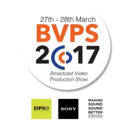BVPS2017, DPA Microphones, Sony and Bubblebee Industries