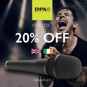 Get your code for 20% Off DPA d:facto in February