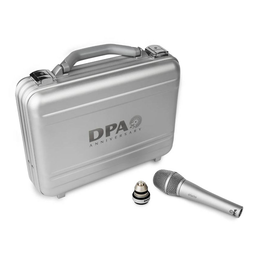 DPA d:facto 25th Anniversary Nickel with Free SL1 Adapter and Aluminium Flightcase