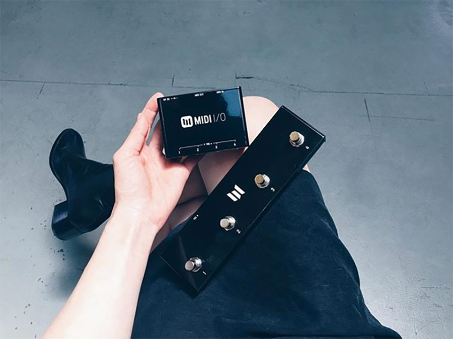 Midi Pedal Switch : new meris midi switch and 4 way control switch preview sound network ~ Russianpoet.info Haus und Dekorationen
