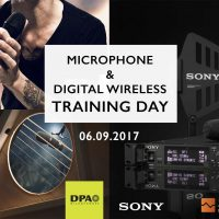 Microphone and Digital Wireless Training Day September 2017
