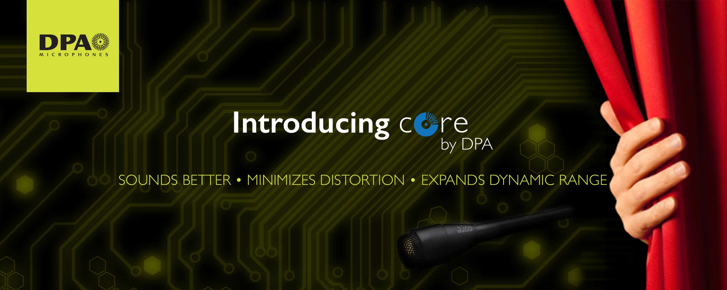 DPA CORE mic technology