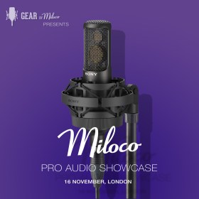 Miloco Pro Audio Showcase November 2017