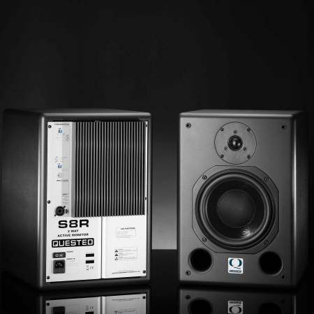 Quested S8R Active Studio Monitors