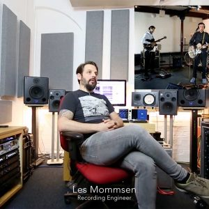 Les Mommsen Recording Engineer on Jack Cheshire Live
