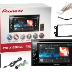 Pioneer Avh X1500dvd Wiring Diagram Pv For Adiabatic Process 6 1 034 Monitor Car Dvd Receiver New