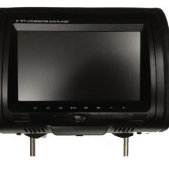 Car Alarm Remote Start Installation Wiring Diagram Cd 89 E30 Radio Audiovox Headrest Accessories ~ Elsavadorla