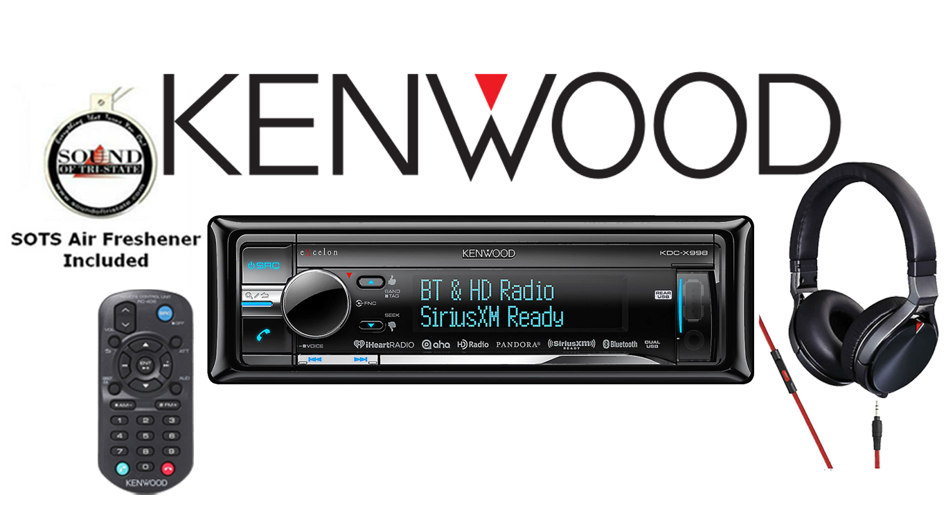 Kenwood KDC-X998 CD & Bluetooth Receiver with KH-KR900
