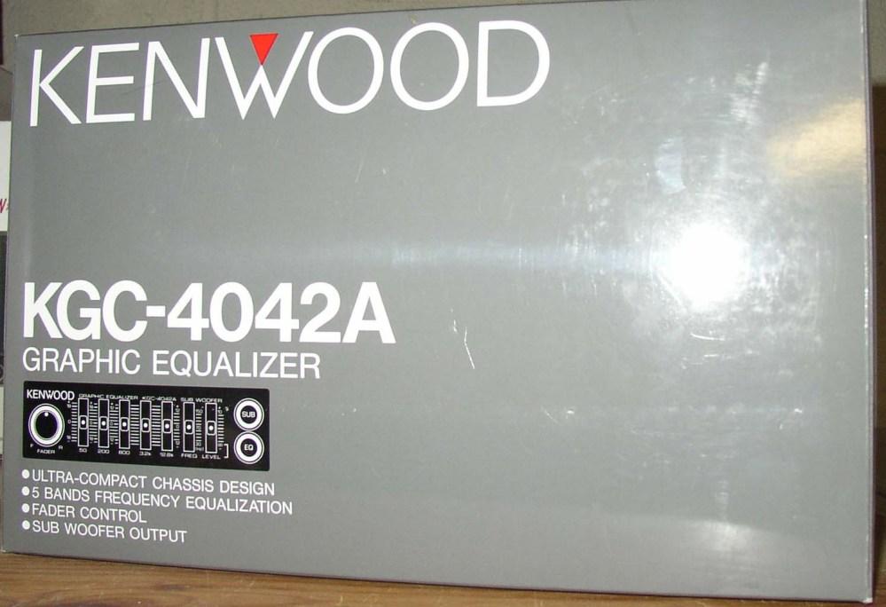 medium resolution of kenwood kgc 4042a equalizer kgc4042a kgc4042ab