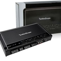 Rockford Fosgate Punch P200 2 Wiring Diagram 1995 Dodge Ram 1500 Transmission Prime 600w 5 Channel Car Amplifier New