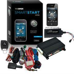 Remote Start Wiring Diagrams For Vehicles Rv Satellite Diagram Refurbished Viper Vss4000 Smartstart Add On W/ Transmitter | Ebay
