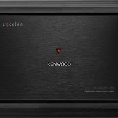 Kenwood Excelon Stereo Wiring Diagram Kia Rio 2004 5 Channel Amplifier 500 Watts X801 Car
