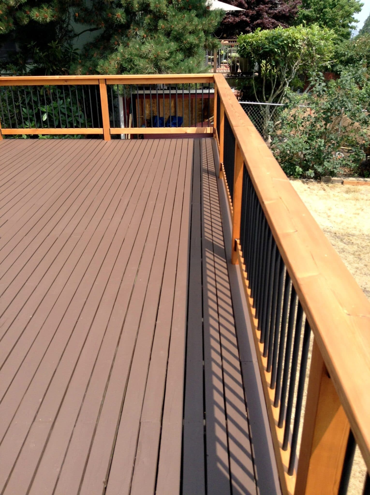 Deck staining in Seattle