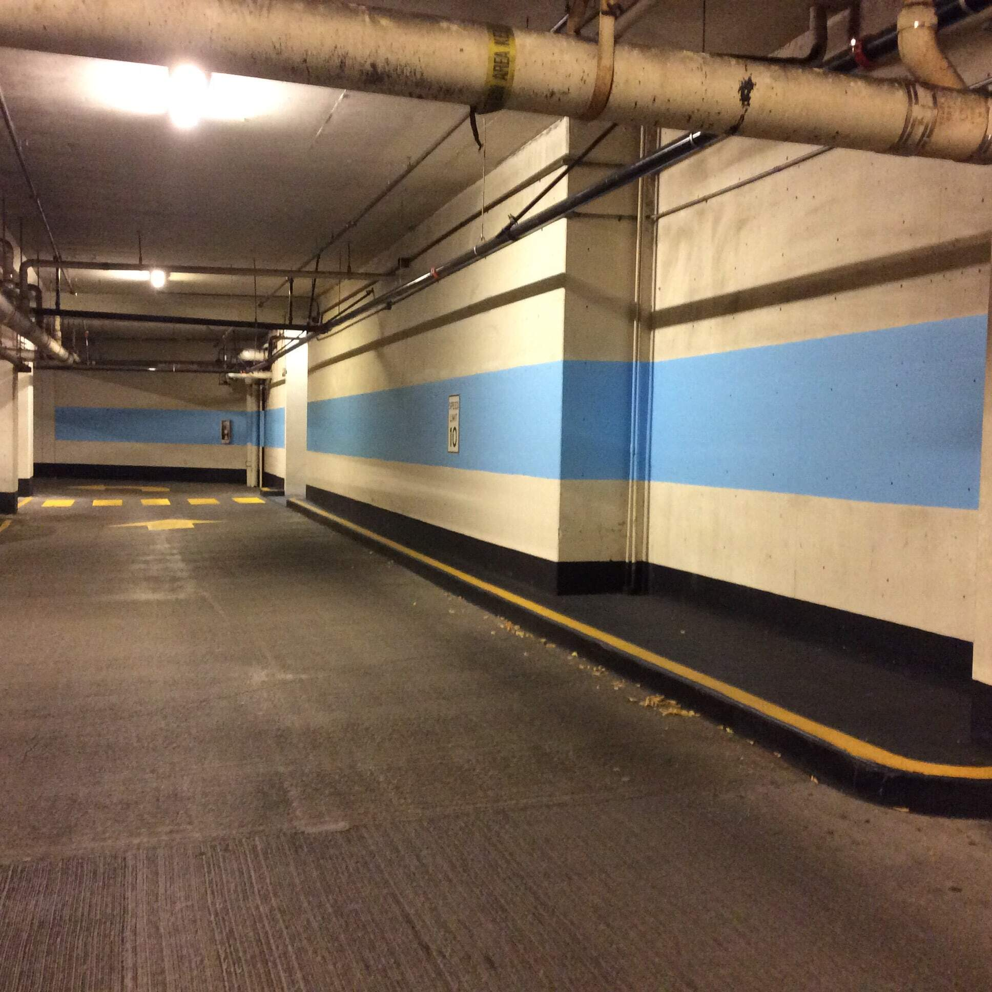 Commercial painting for Premier Parking