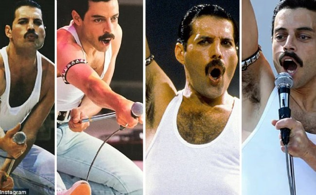 Comparison Of Bohemian Rhapsody Cast And Queen Live Aid