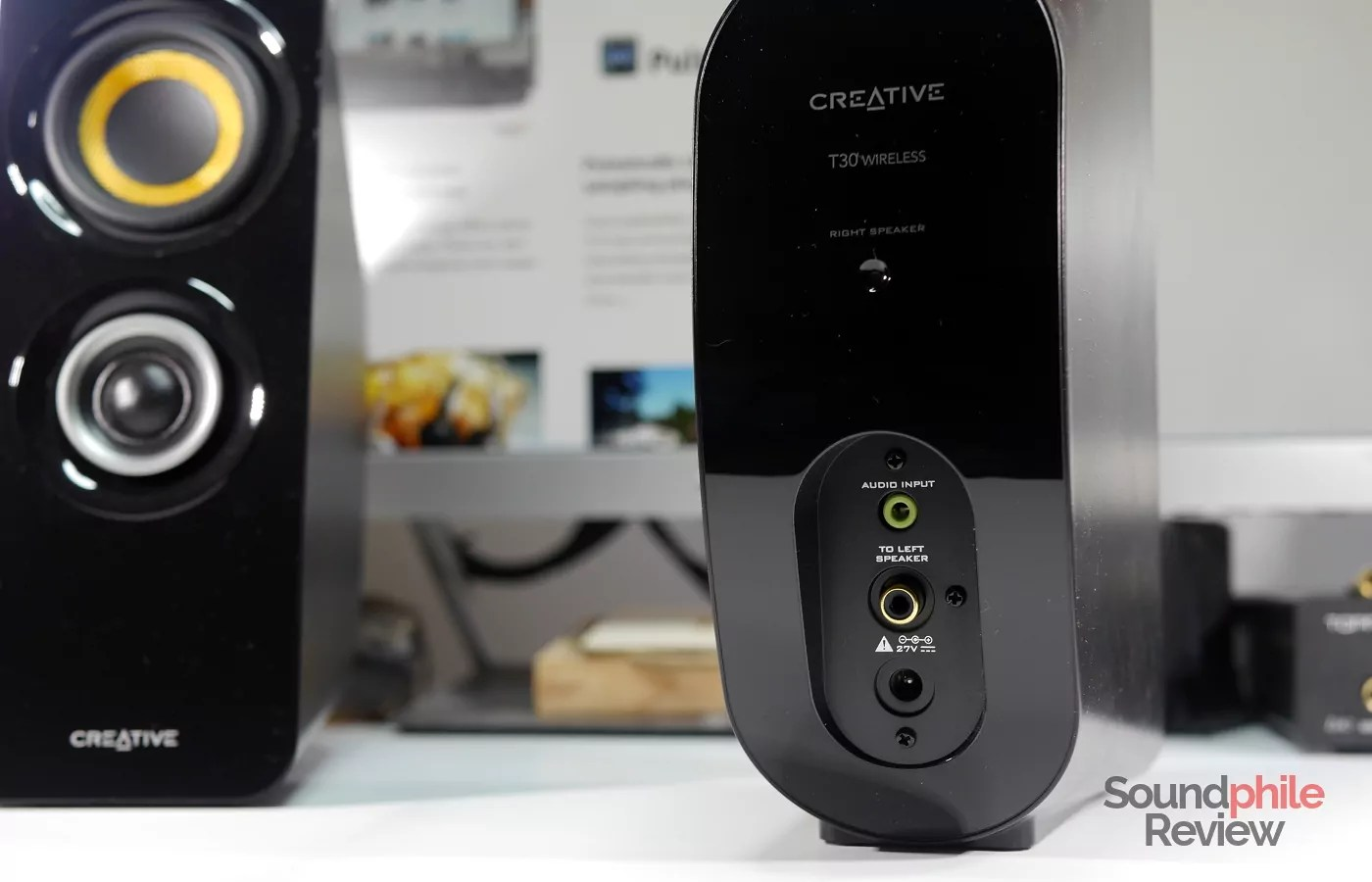 Creative T30 Wireless Bluetooth Speaker 2.0 Equipped with NFC Connectivity Black