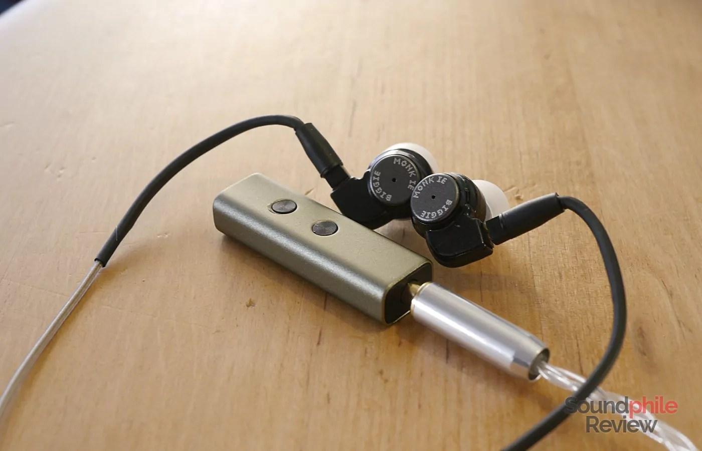 VE Monk IE ZuperDAC-S Headphones in Pictures
