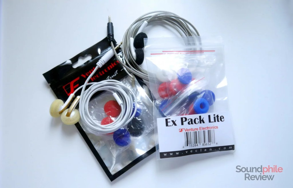 Venture Electronics Monk Lite packaging and accessories