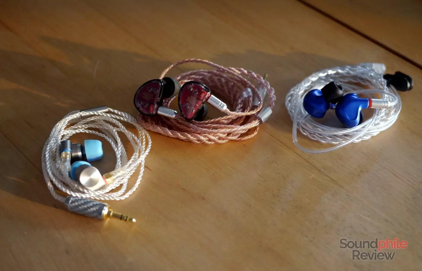 Tin Audio T2 Pro KZ AS10 BGVP DMG Headphones in Pictures