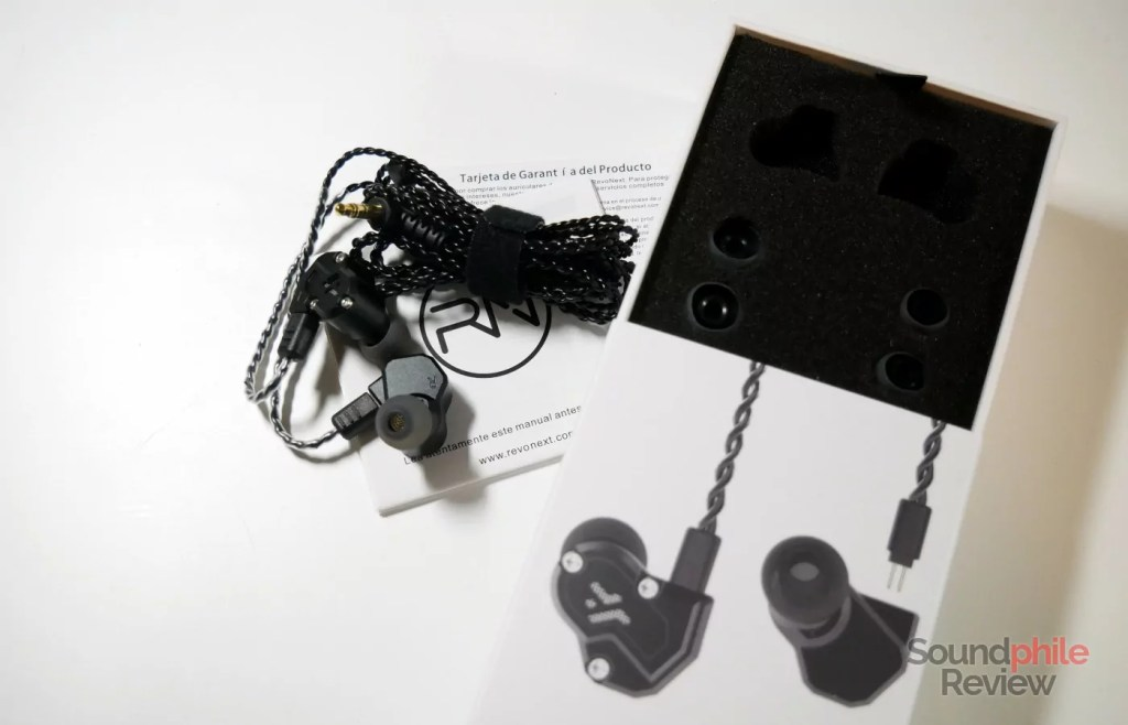 RevoNext QT3s accessories