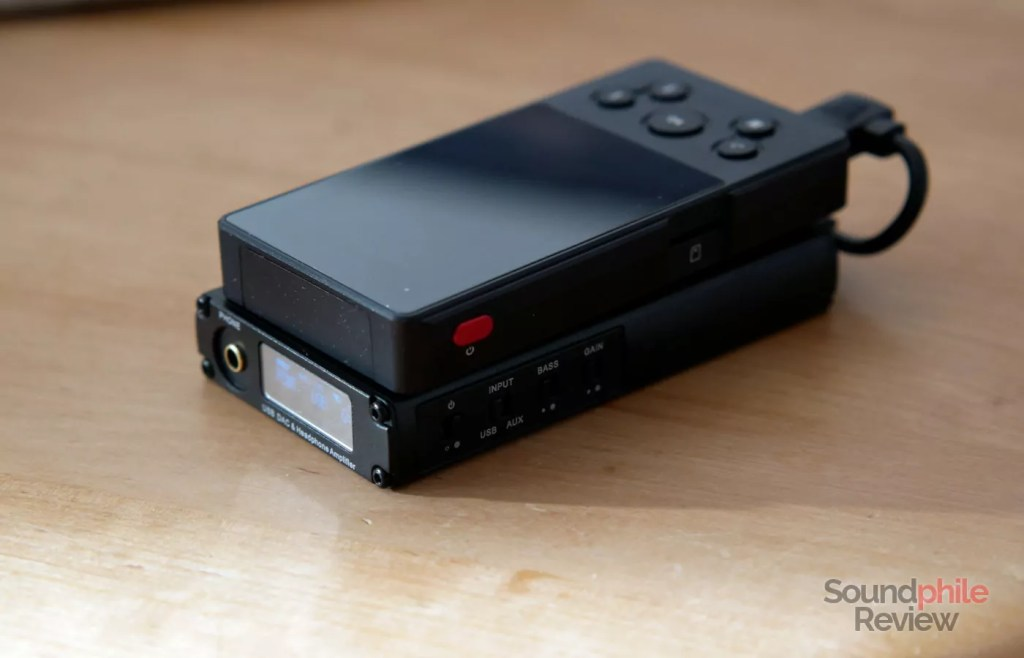 xDuoo XD-10 Poke with xDuoo X10T II