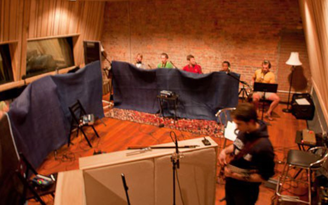 How to Record a Big Band: UNC Big Band at Sound Pure Studios