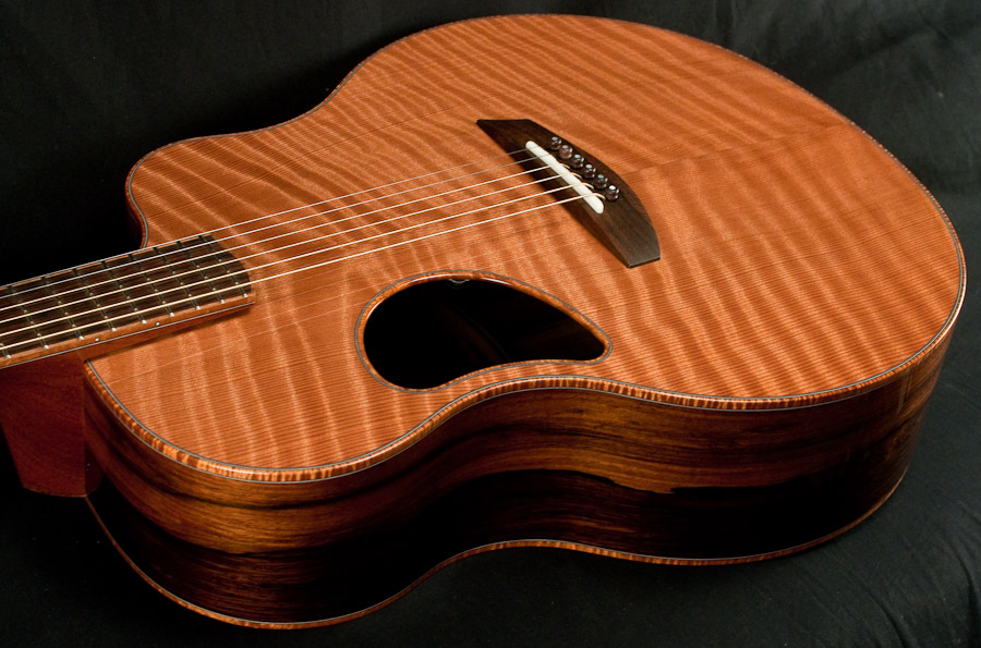 McPherson 4.5XPH Flamed Redwood/Brazilian Rosewood #1744