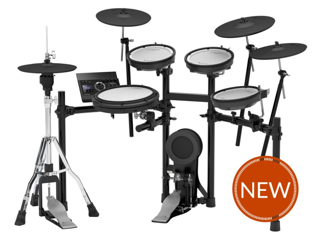 Roland's TD-17 V-Drums Have Debuted