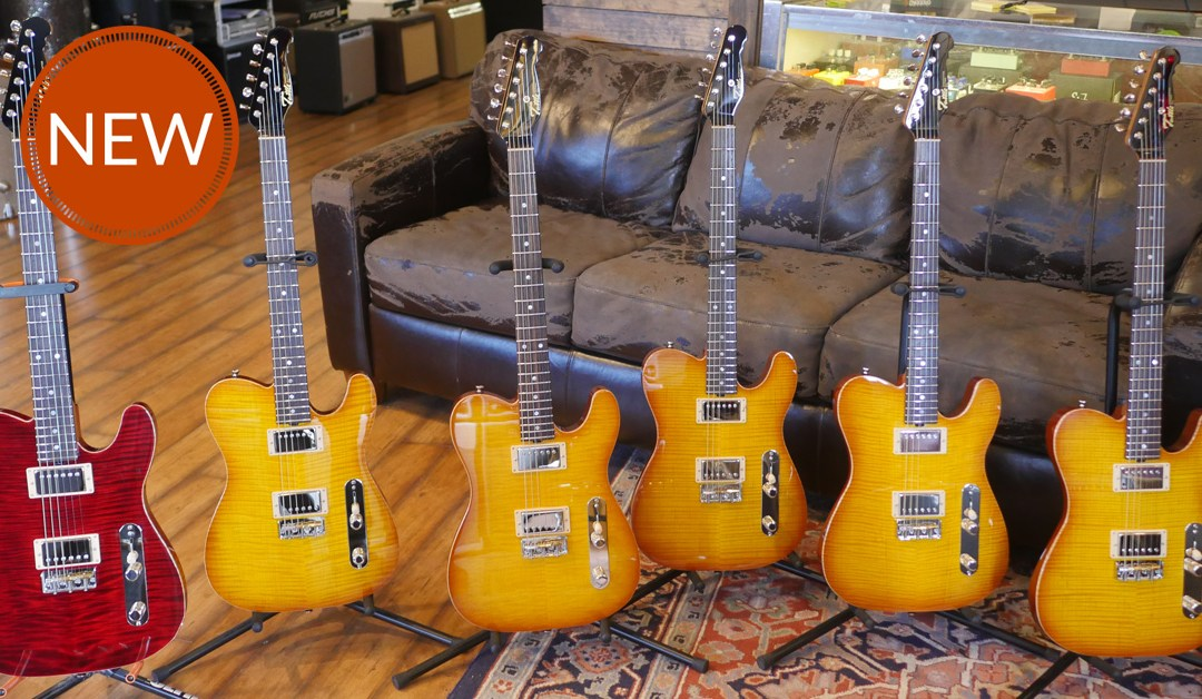 Michael Tuttle's 500 Series Guitars Are Here!