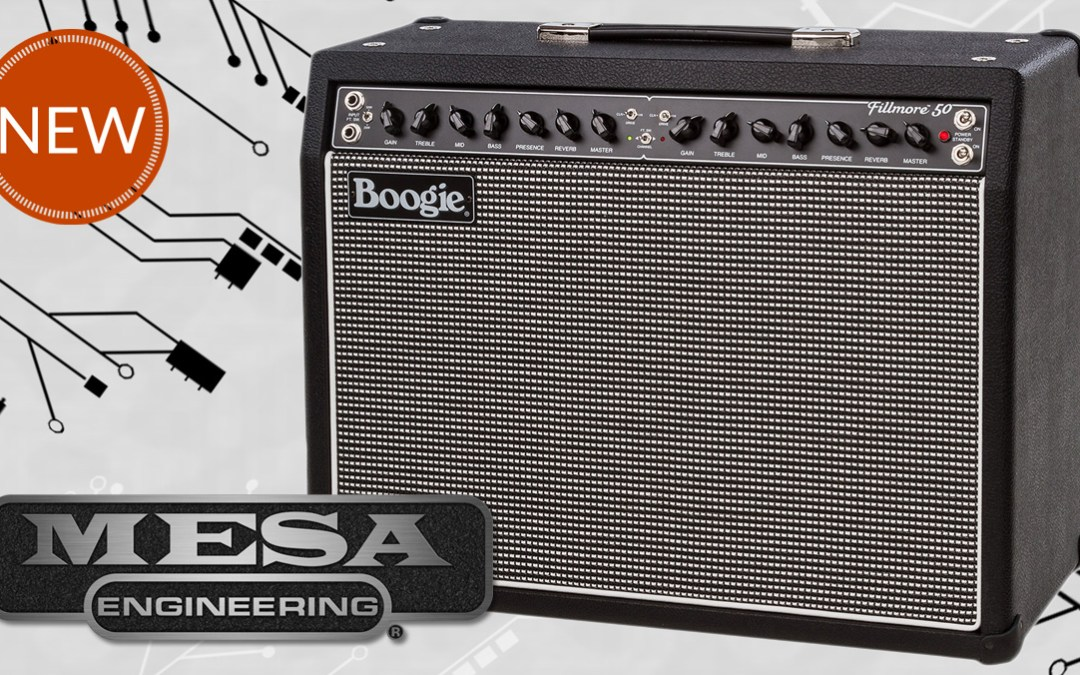 New from Mesa/Boogie: The Fillmore