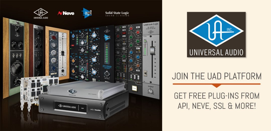 Join the UAD Platform & Get FREE Plug-Ins!