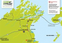 marlborough sounds tours - pick up map