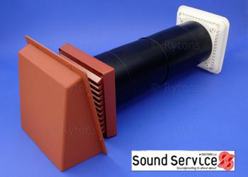 Acoustic air ventilation