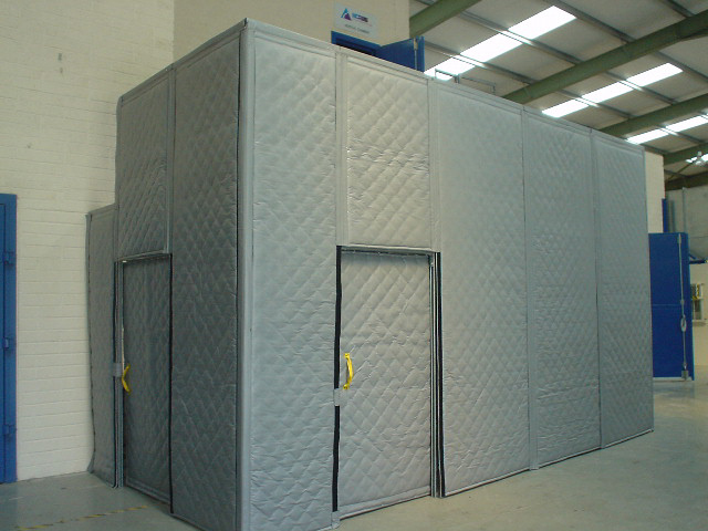 Soundproof Curtains For Industrial Use