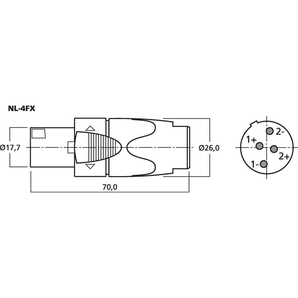 Neutrik Nl Series Speakon Connectors