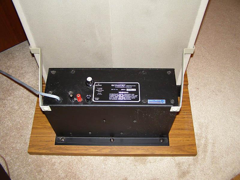 Acoustat 22 Electrostatic Speakers