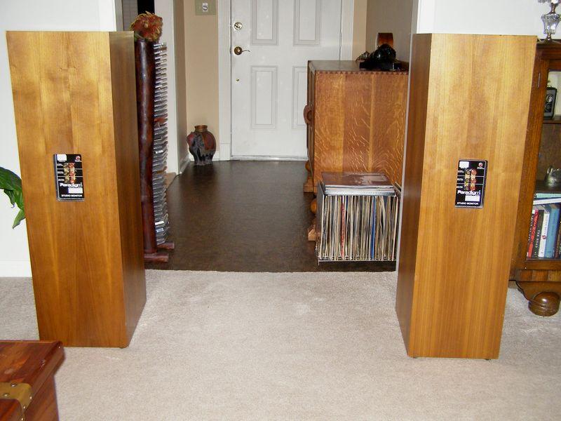 Paradigm Studio Monitor Speakers