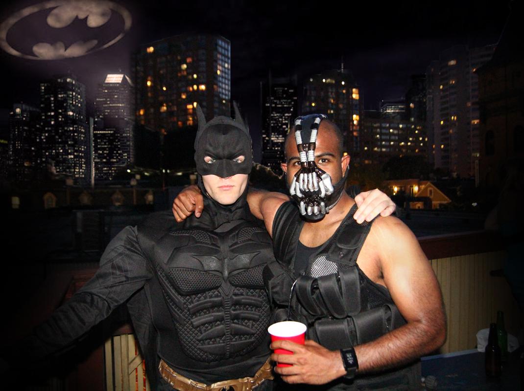 dark knight and bane costumes